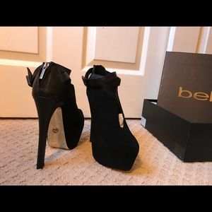 Bebe Platform Shoes (Giovanna Shooties with slit)